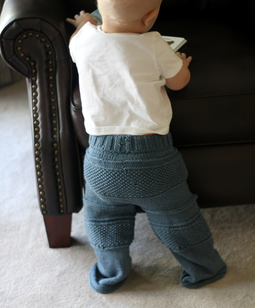 in Free Patterns· sewing for baby. Free Baby Knit Pants Pattern. Free Knit Baby Pants Pattern. 1/2 yard knits. Something with 50% stretch or more. To start, place the front and back right sides together and sew the curve of the crotch. Top stitch if desired. Next sew down the sides.