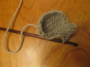 crocheting an elephant ear