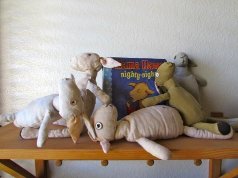 llama rag dolls
